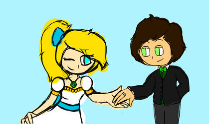 Wedding Dance Photo (Part 1) [WIP] by FionnaCoolGirl