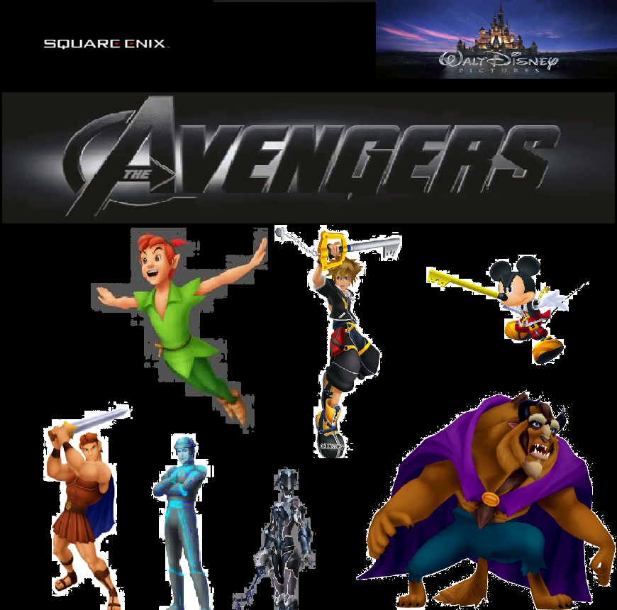 Kingdom Hearts Avengers by GalacticTrooper954 on DeviantArt