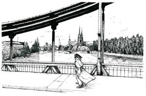 +Natanael on a bridge+ by radamenes
