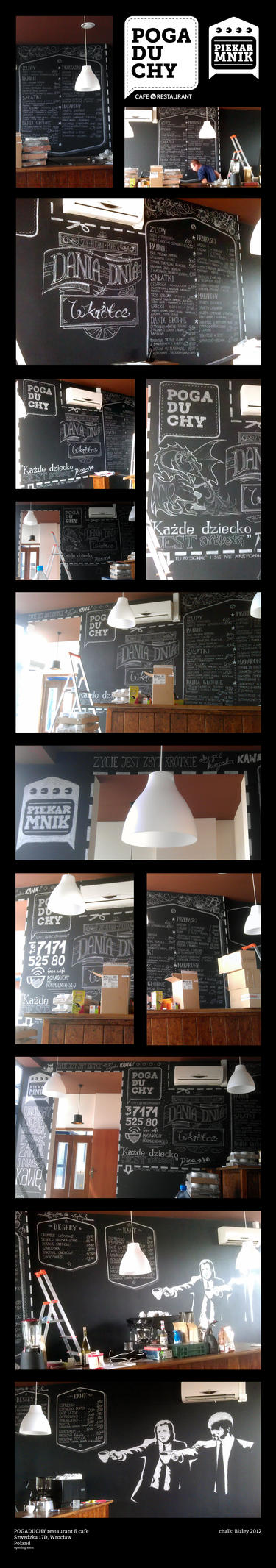 + Pogaduchy chalk walls + by radamenes