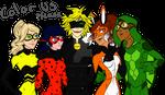 Miraculous-Happy Family (Colour)