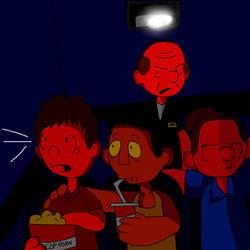 Movie Night by Tibusfaciem02