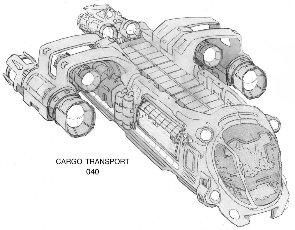Cargo Transport 040 by GothkGrafx