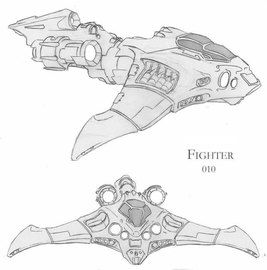 Deviant fighter 0030 by GothkGrafx