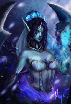 Ghost Bride Morgana - League of Legends(FANART)