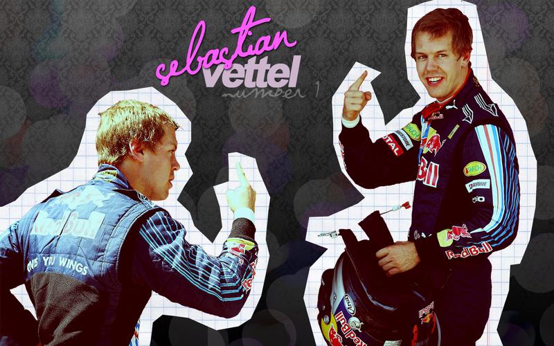 Sebastian Vettel Wallpaper by randomflowers