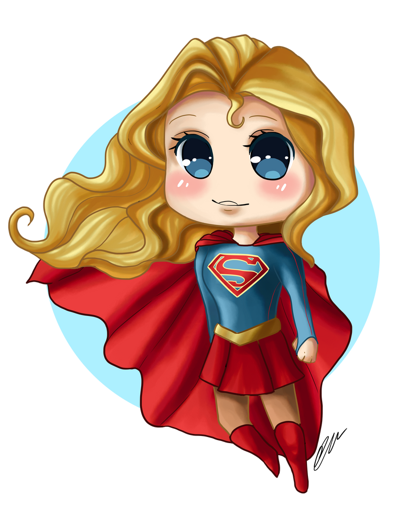 Supergirl Chibi Video By Artbox99 On DeviantArt