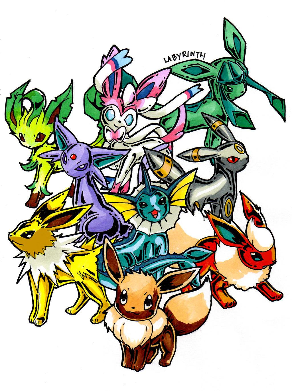 Pokemon Eevee Evolution Chart Images | Pokemon Images