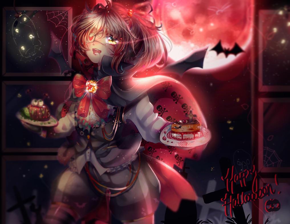 Happy Halloween! by Tiffomaeda