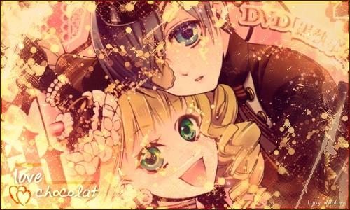 Love Chocolat - Ciel and Lizzy by ShinaSukoshi