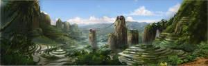 Lost Valley Matte : Sketch