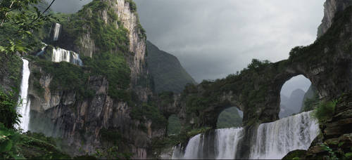 Land Bridges by frenic