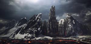 Fiery Tower of Ice