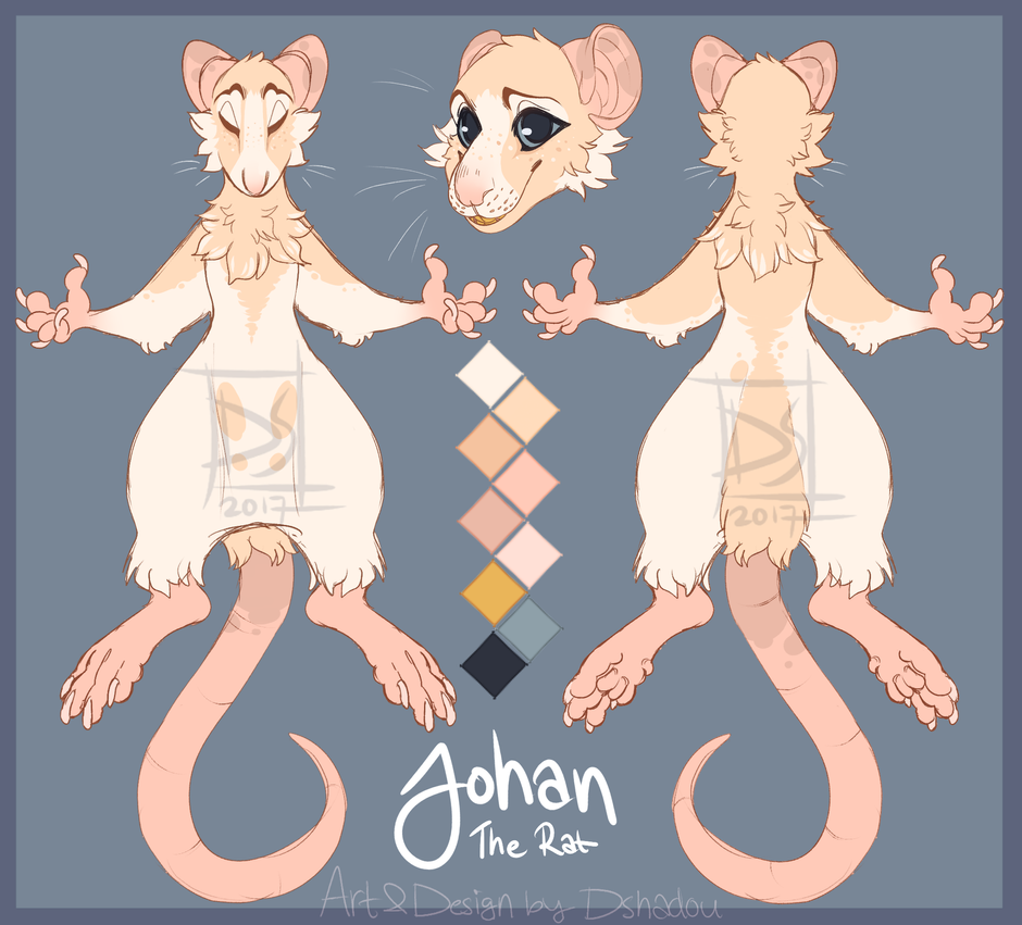 Johan Reference sheet by DShadou