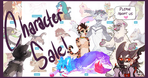CHARACTER SALE -LOWERED PRICES-