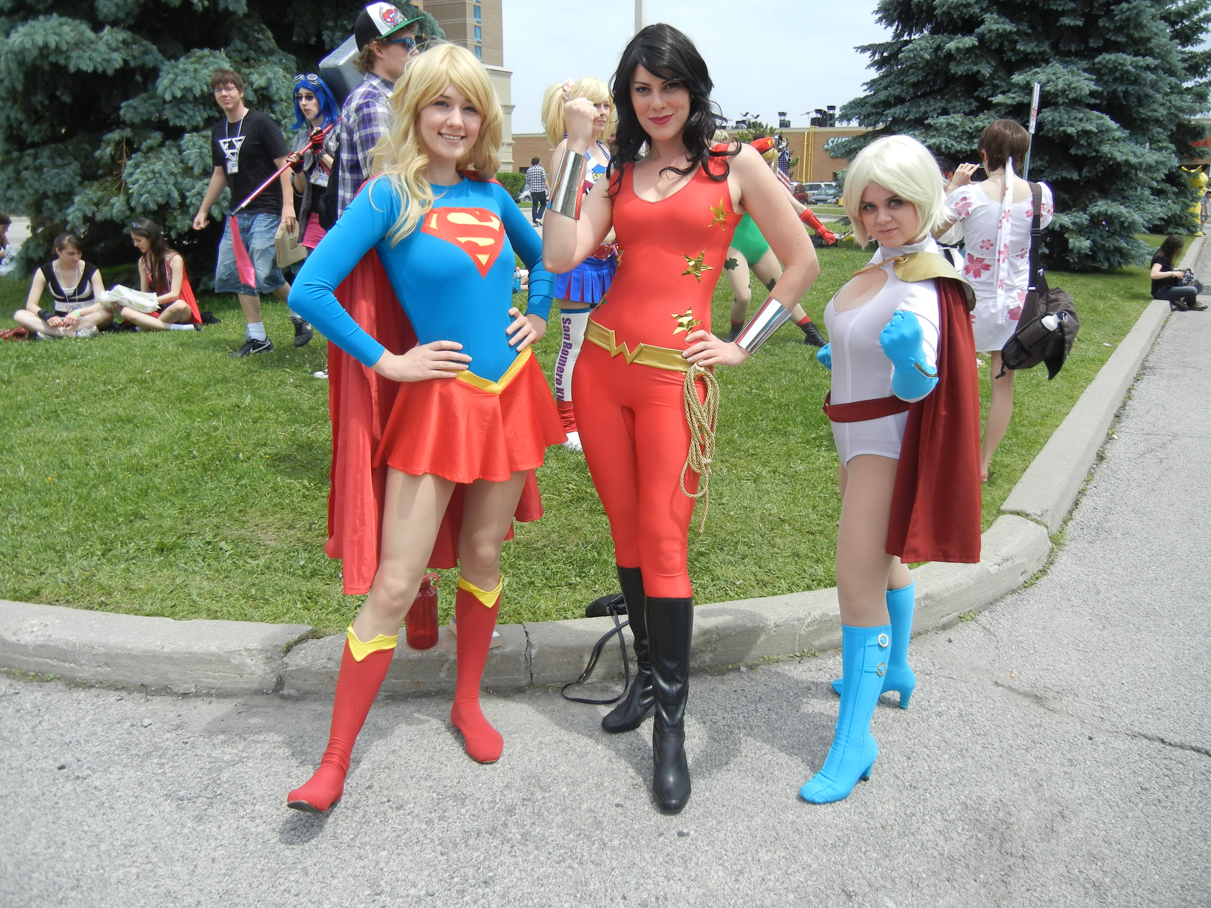 Anime North 2012 - DC Girls Cosplay by jmcclare