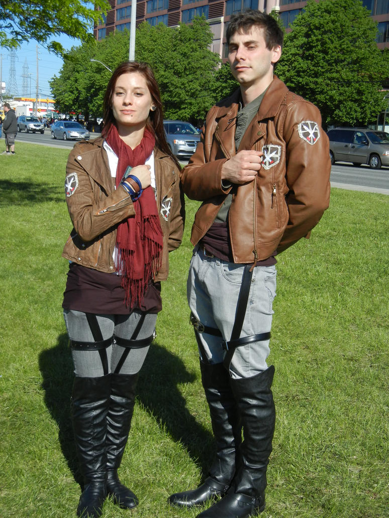 Anime North 2013 - Attack On Titan Cosplay by jmcclare on DeviantArt