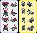 Pokemon Unova Overword Sprites