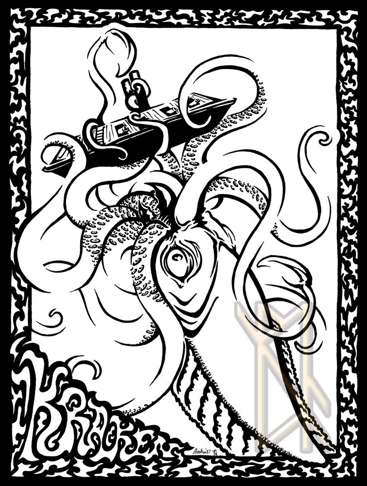 Kraken by leiko