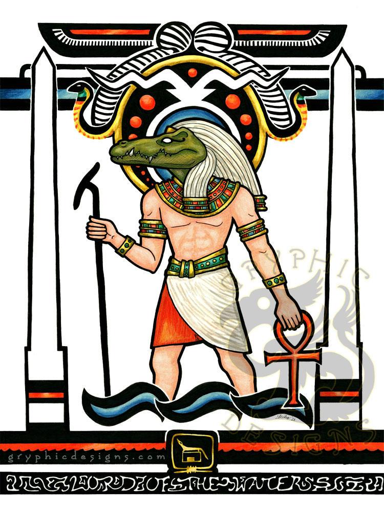 Egyptian Nouveau Sobek