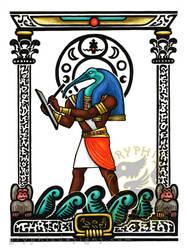 Egyptian Nouveau Thoth