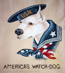 US Navy American Watch Dog