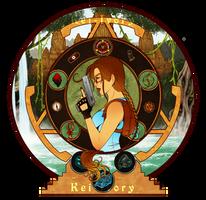20 Years of Lara Croft by Kei-Ivory