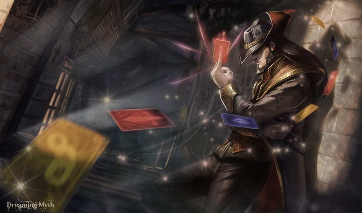 Twisted Fate Wallpaper By Dreaming Myth