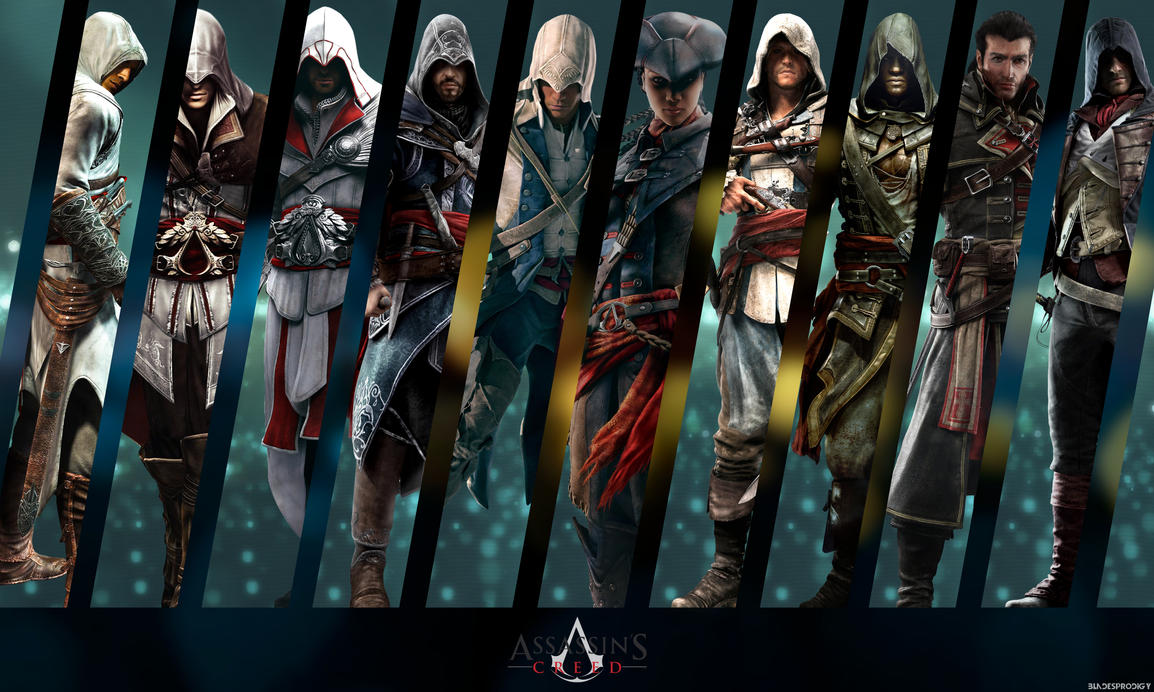 assassins creed wallpaper by bladeprodigy1 on deviantart