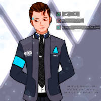 Connor - Detroit Become Human ~ by naty-js