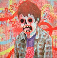 Zelf Portrait by Bonio