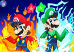 Super Mario: Brothers of Fire and Thunder
