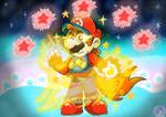 Super Mario: Fire star Mario