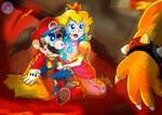 Super Mario: Battle with Bowser redraw