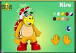 Super Mario Superstars: Kisu character sheet