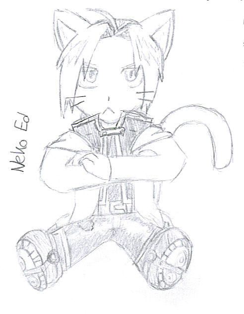 Neko Ed by scmscmscm09 by Alchemic-Artists