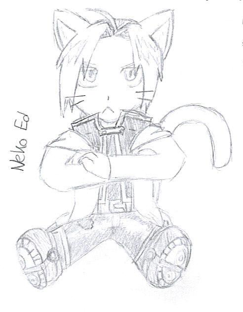 Neko Ed by scmscmscm09 by Alchemic-Artists