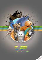 animals by miracfeyiz