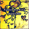.rabbit the king stamp. by Ponchounette