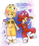 M and M's by Ponchounette