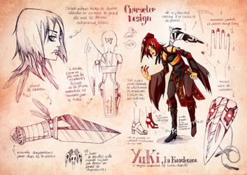 chara design :: YuKi by Ponchounette