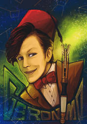 11th Doctor by Ponchounette