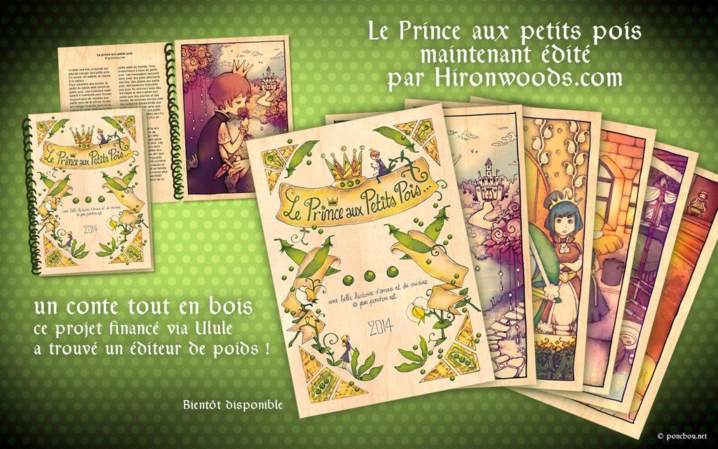 Le Prince aux petits pois by Ponchounette