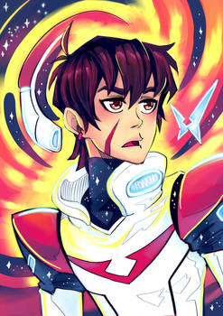Keith from Voltron