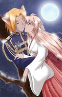 TKR: Moonlight Kiss by tamayouchi