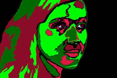 Alien Woman #2 by jderby1