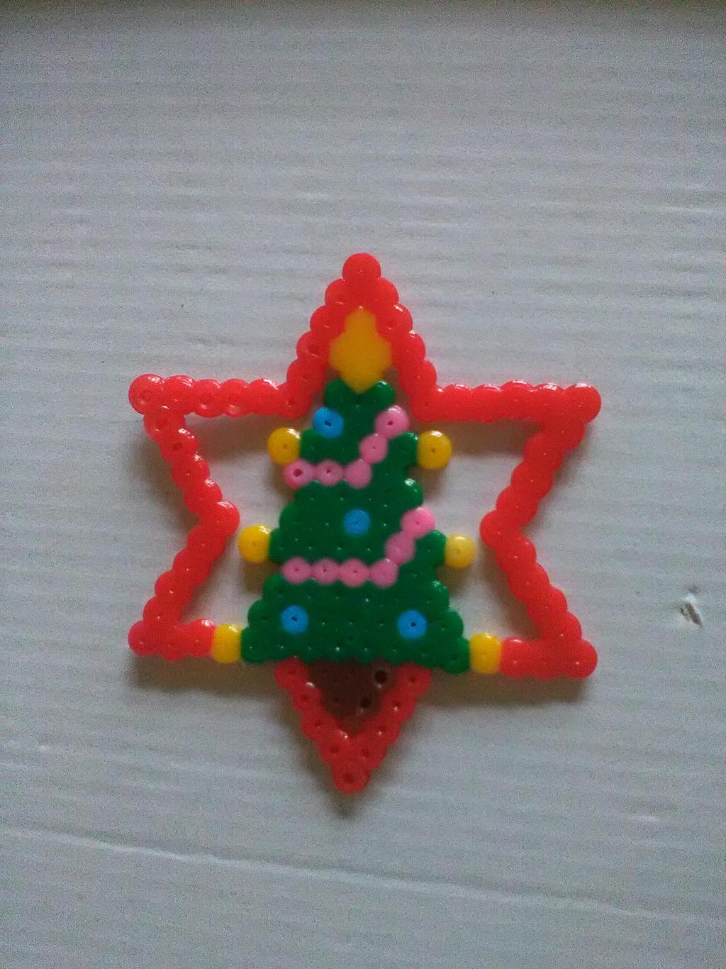 Decoration de Noel pixelart
