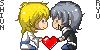 Shiun and Ryu  - heart smiled by SmilingOfTheHealer