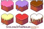 Heart cakes - FREE ICONS by SmilingOfTheHealer