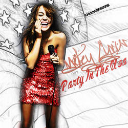 Miley Cyrus Party In the USA by chizuz